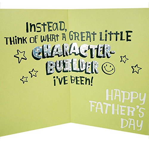 Hallmark Funny Father's Day Greeting Card (I've Been a Character Builder) Photo #5