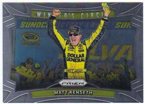 (2016 Panini Prizm Winner's Circle NASCAR #28 Matt Kenseth Dollar General/Joe Gibbs Racing/Toyota Official Racing Card by Panini)