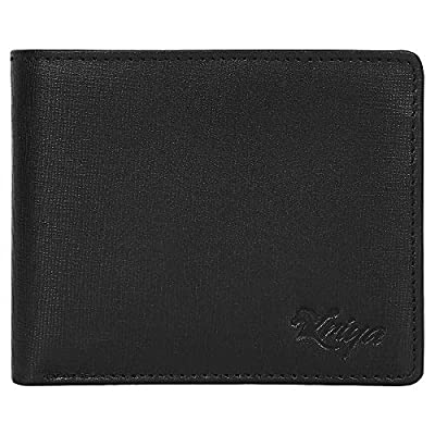 RFID Blocking Passcase Leather Handmade Wallet for Men