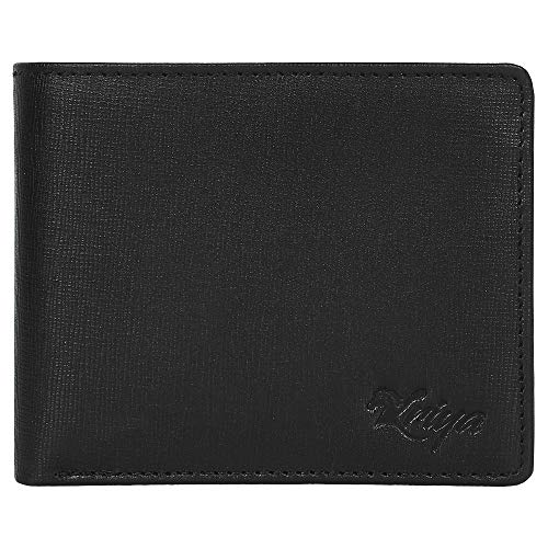 (RFID Blocking Passcase Leather Handmade Wallet for Men )