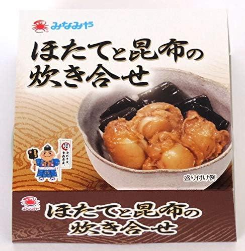 ほたてと昆布の炊き合せ 70g【青森県産ほたて使用】