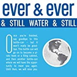 Still Water by [ Ever and Ever ] Aluminum Bottled | Reverse Osmosis Still Water | 7.4 pH Balanced with Electrolytes | RECYCLABLE FOR ALL ETERNITY | 16 oz Bottle-Cans