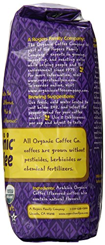 The Organic Coffee Co. Whole Bean, Decaf Hurricane Espresso, 12 Ounce