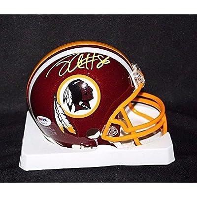new arrivals f2211 d24b9 Jordan Reed Signed Washington Redskins Mini Helmet Autograph ...