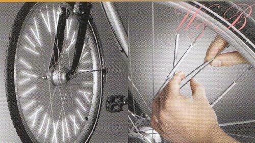 3M Scotchlite Speichenreflektoren 36 Stück Speichensticks Sicherheit fürs Fahrrad
