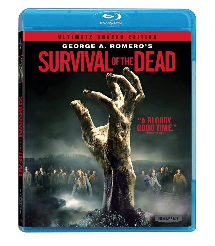 Survival Of The Dead Blu-Ray DVD Cover (2010) German