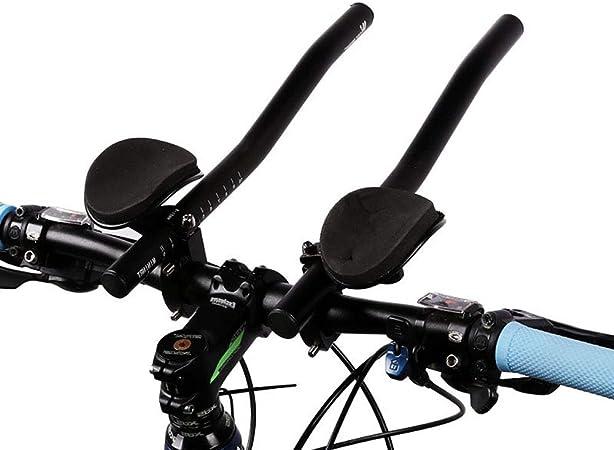 1 Pair Aluminum Cycling Bike Rest Handlebar Riding Bicycle Sheep Horn Bar Ends