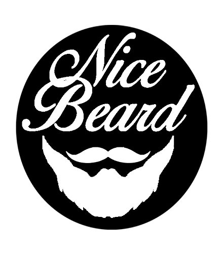 ⭐ peine para la barba nicebeard ⭐ - marcaje Parfait de los bordes en menos de 2 minutos. - sólido y resistente - 10 x 11 cm - con cepillo de limpieza ...