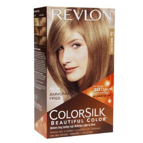 (Revlon ColorSilk Hair Color 61 Dark Blonde 1 EA - Buy Packs and SAVE (Pack of 5))
