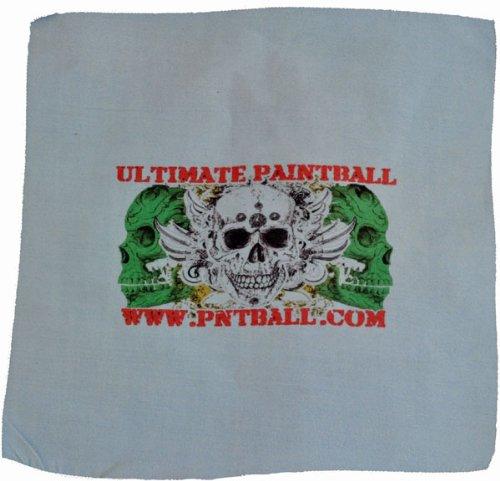 3Skull Paintball Optical Microfiber Cloth 7x6