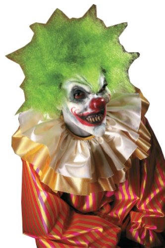 Scary Clown Make Up (Rubie's Costume Reel F/X Krazy Klown Kit, Red, One Size)