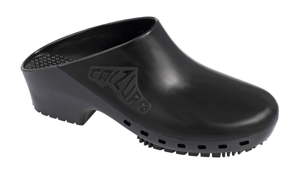 Calzuro Black Without Upper Ventilation Holes - 40/41 US Women's 10.0-11.0
