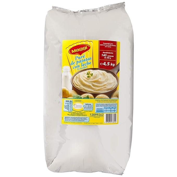 Maggi Puré de Patatas granulado con Leche - Paquete de 4500 g