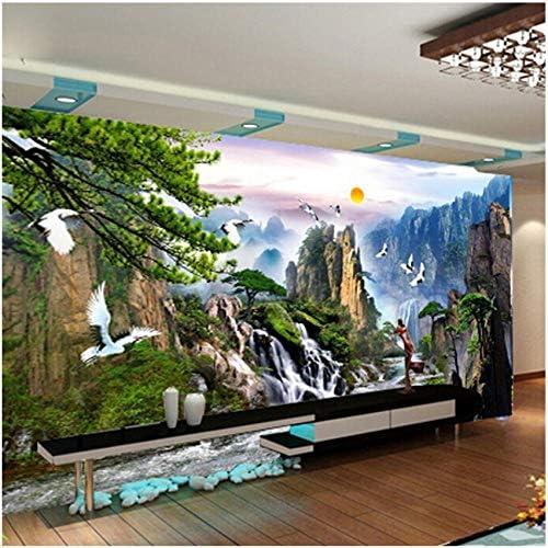 壁飾り画 中国風の風景壁紙壁画壁紙家の装飾-250X175CM