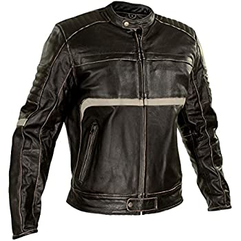 Amazon.com: Xelement BXU1771 Mens Charcoal Dark Brown Armored ...