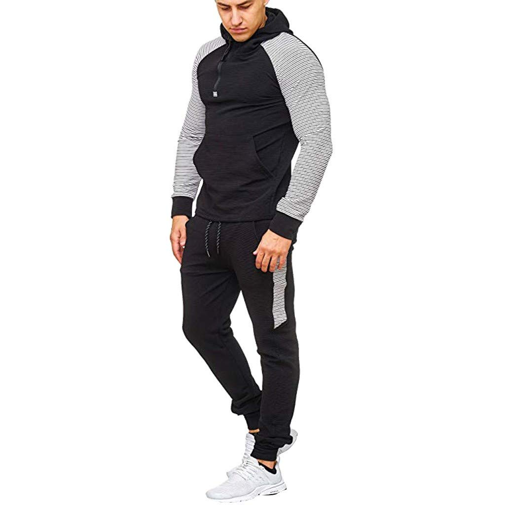 Men Tracksuits Casual Jogger Set/Baby Tracksuit/Plus Size/Mens Casual Tracksuit/Men Sweatsuits Sets/Polo Jackets for Men/Track Pants Men/Boys Tracksuit/Set Sports by elegantFIY-Tracksuit