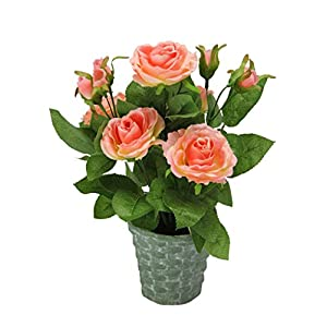 Admired By Nature Artificial Potted Rose 21