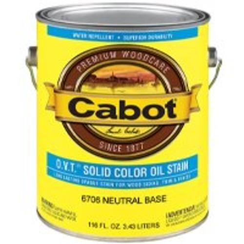 CABOT SAMUEL 6706-07 INC GAL VOC NTRL Oil Stain 1 gal