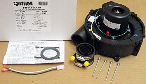 Intercity Furnace Flue Exhaust Venter Blower 115V - 330701-701, 329148-70,11013915 Rotom FB-RFB330 by Rotom