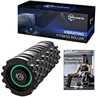 Kinetic Phase 8-Speed Vibrating Foam Roller - High...