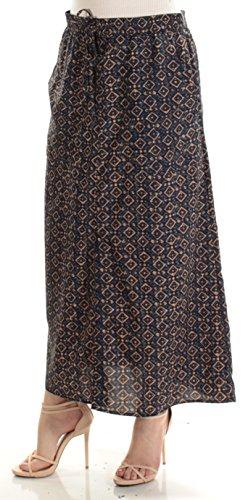 Long Cargo Skirt - Lauren by Ralph Lauren Crepe de Chine Cargo Maxi Skirt (Multi, M)