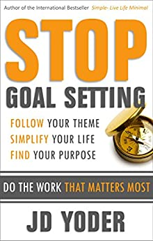 Stop Goal Setting Work Matters ebook product image