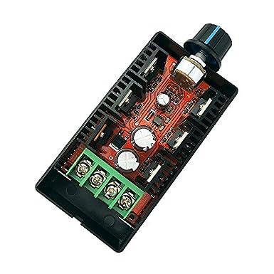 Discreet 6v 12v 36v 60v 90v Pwm Speed Controller Dc Motor Digital Display 0~100% Adjustable Drive Module Input Max 15a Motor Controller