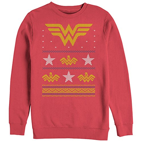 Wonder Woman Ugly Christmas Sweatshirt