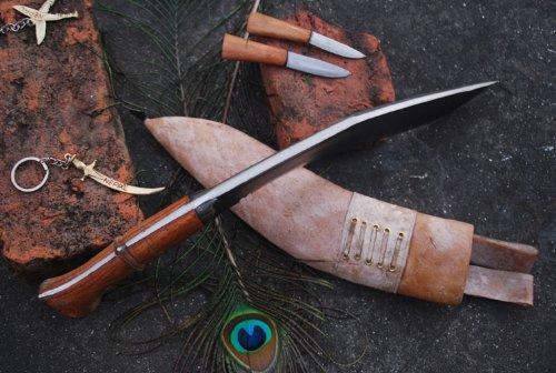 EGKH. Genuine Gurkha Full Tang Kukri Knife - 11'' Blade Iraqi Operation Khukuri or Khukris - Handmade By Ex Gurkha Khukuri House in Nepal by EGKH. (Image #5)
