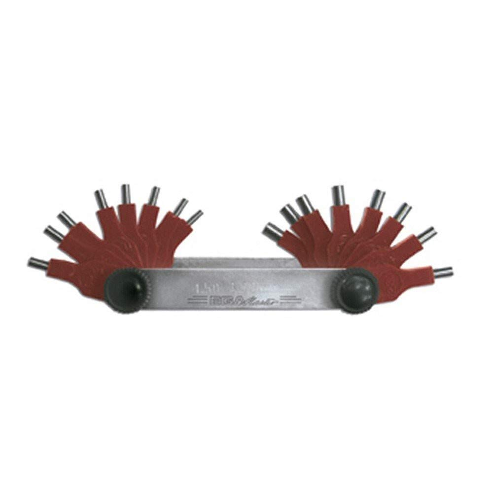 m/étrica 13 cuchillas Medidor de espesores KS Tools 300.0615