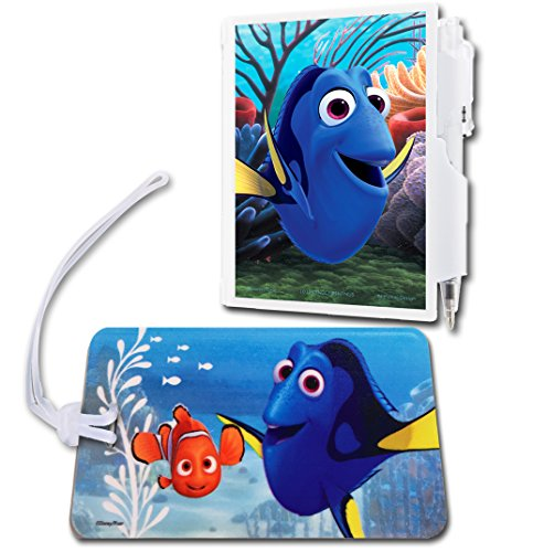 Finding Dory Backpack ID Tag and Notepad and Pen with Nemo ()