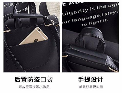 marrone personalità moda Double Bag Shoulder MSZYZ della Borsa per la 71wCqCz