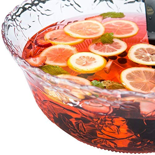 Chefible Durable Punch Bowls, Elegant, Resilient and Professional - Set of 2