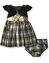 Baby Girls' Taffeta Plaid Party Dress