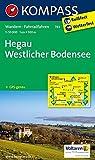 Hegau - Westlicher Bodensee: Wanderkarte mit Radrouten. GPS-genau. 1:50000 (KOMPASS-Wanderkarten, Band 783)