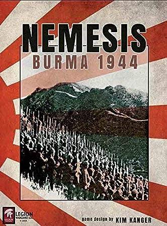 Legion Wargames Leg: Nemesis, Burma 1944, Juego de Mesa: Amazon.es ...