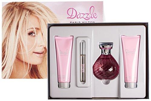 DAZZLE 4 Piece Eau de Parfum Spray Gift Set for Women Dazzle Gift