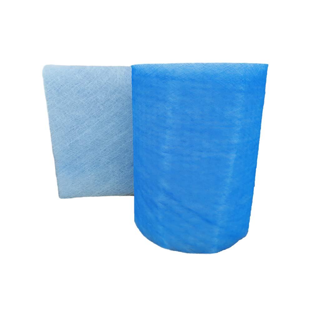 Paint Booth Exhaust Filter Roll, 24''x 100 ft, Spray Booth Filter, Fiberglass Paint Arrestor for Air Filter System(18 Gram)