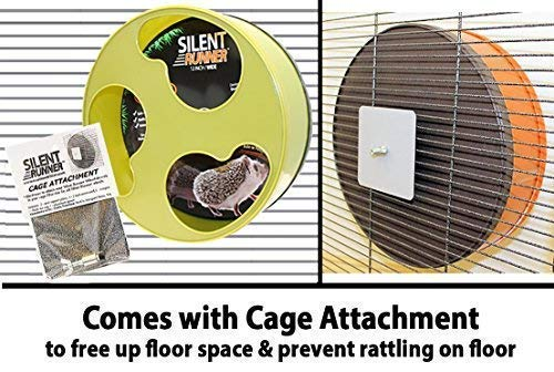Silent Runner 12 Wide Cage Attachment Pet Exercise Wheel
