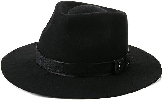 Gents 100/% Wool Hand Made Grey Manhattan Felt Fedora Trilby Hat With Wide Band
