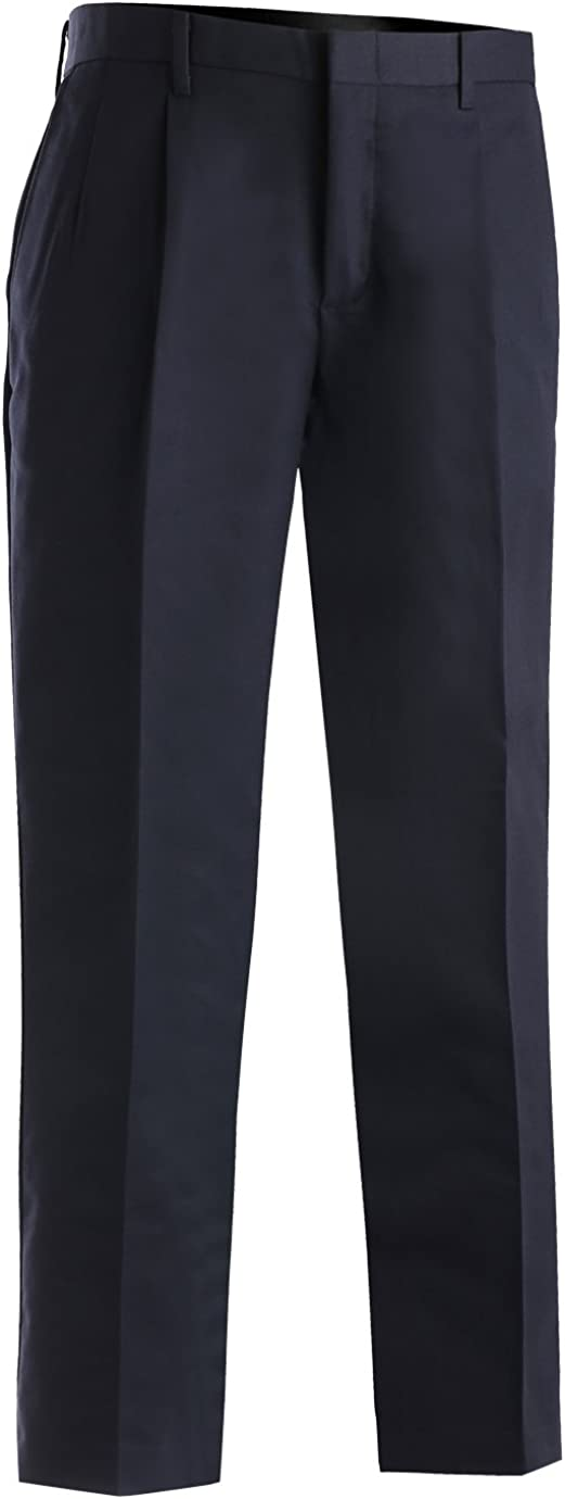 NAVY Ed Garments Mens Tall Business Casual Chino Pleated Pant