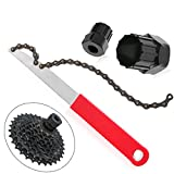 FidgetFidget Chain Cassette Cycle Bike Freewheel Whip Sprocket Lockring Remover Tool Repair