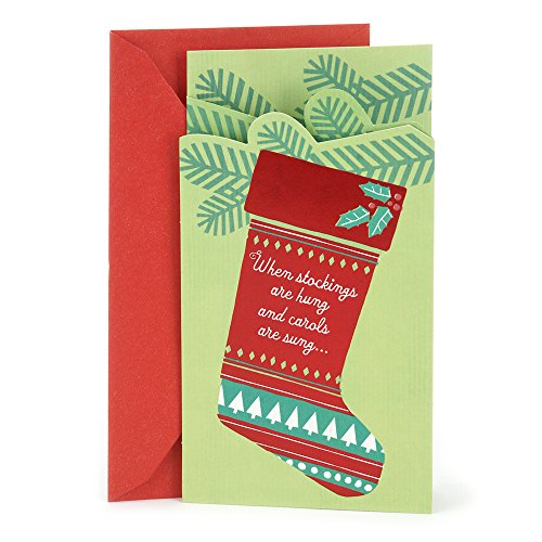 Hallmark Christmas Money or Gift Card Holder (Christmas Stocking)