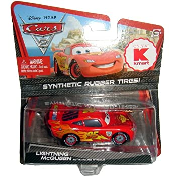 Disney Pixar CARS 2 LIGHTNING MCQUEEN Kmart Exclusive Synthetic Rubber Tires WGP