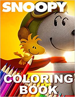 Snoopy Coloring Book Great Book For Kids Paradise Books