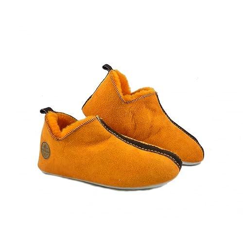 d002de26 Shepherd - Zapatillas de Estar por casa para Mujer Naranja Naranja ...