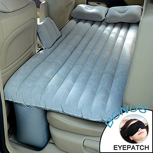 FidgetGear Gray New Car Bed For Back Seat Cover Air Mattress Universal Car from FidgetGear