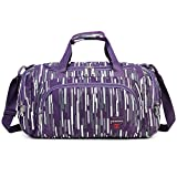 AOKE Small Carryon Overnight Travel Bag Duffle Bag Gym Bag Tote Bag Weekender Bag Cabin Bag Top-Handle Convertible Duffle Luggage Multicolor Choice for Women