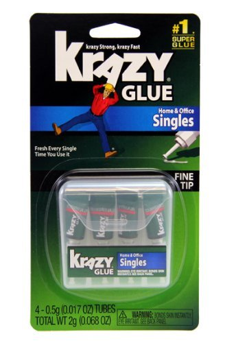 krazy-glue-kg82048sn-instant-crazy-glue-home-office-4-single-use-tubes-of-0017-ounce-by-krazy-glue