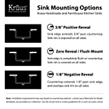 KRAUS KHU100-30 30-inch 16 Gauge Undermount Single Bowl